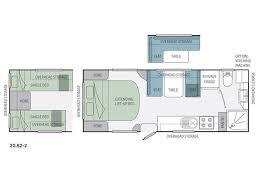 Jayco Caravan Floor Plans 2 Floor Caravan House Decorations