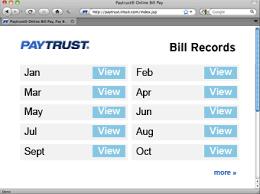 way bills online pay bills with paytrust u2013 the all u2013in u2013one online bill pay service