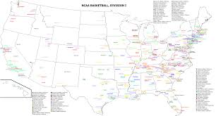Usa Map East Coast by Photo Us Map Of College Teams And Universities 25 Maps That