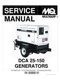 dca25 150 service manual insulator electricity electric power