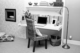 Black Desk And Chair Design Ideas Interior Floating White Desk Plus A Chair With Black Wooden Legs