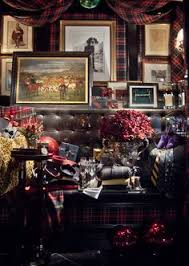 Ralph Lauren Interior Design by Ralph Lauren Home Noble Estate Collection Black And Red Gold