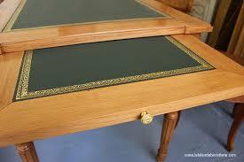 cuir de bureau le bois et le cuir