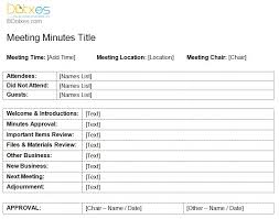 meeting minutes format template meeting minutes templates for