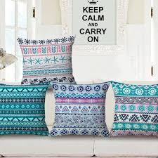 taie d oreiller pour canapé moderne géométrique taie d oreiller de style ethnique style