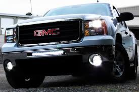 led lights for 2014 gmc sierra proz single row heavy duty cree led light bars 250w single row