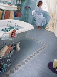 bathroom floor ideas loving linoleum hgtv