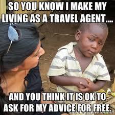 Travel Meme - top 4 travel agent memes karryon