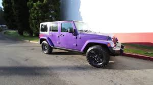 purple jeep 2016 jeep wrangler unlimited sahara backcountry xtreme purple