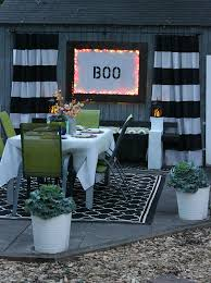 Patio Party Decorations Halloween Party Decorations