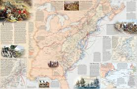 Lexington And Concord Map Battles Of The Revolutionary War Map National Geographic Society