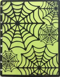 happy halloween cover photos halloween spider web cover interchangeable happy planner