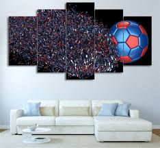 5piece canvas poster painting modular wall art for living room