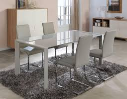 dining room table decor and the whole gorgeous dining white glass dining table implantsr us modern concept 4 no29sudbury com