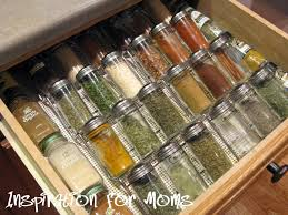 Spice Rack In A Drawer 21 Days To A Clean Organized Home Day 5 Organizing Your Spices