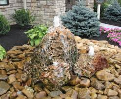 Rock Water Features For The Garden by July 2014 Sibcy Cline Blog