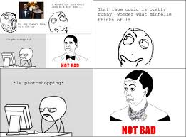 Rage Comics Know Your Meme - obama rage face not bad know your meme