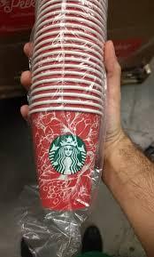 amazon black friday reddit starbucks 2016 holiday red cups leaked on reddit reviewed com