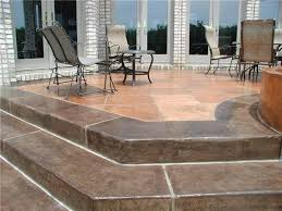 Color Concrete Patio by 50 Best Outdoor Patio Images On Pinterest Outdoor Patios