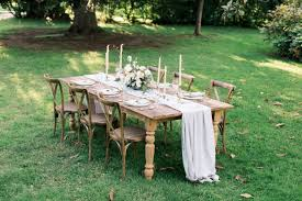 table and chair rentals in md farm table rentals something vintage rentals
