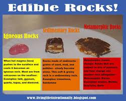 edible rocks for a twist edible rocks earth science