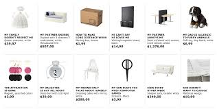 google ikea clever ikea ad renames products by google search stealthisidea