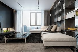 Three Luxurious Apartments With Dark Modern Interiors - Luxury apartment design