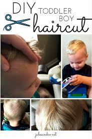 diy toddler boy haircut jules u0026 co