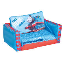 Kids Fold Out Sofa by Thomas U0026 Friends Inflatable Kids Flip Out Sofa Playroom Ebay