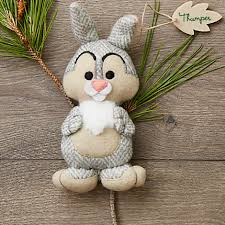thumper disney parks storybook plush ornament coisas