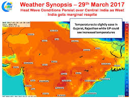 India On Map by Some Respite For W India On Ugadi Gudi Padwa From Heatwave