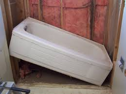 How To Replace Bathroom Amazing Install New Bathtub Bathroom Remodeling Part 1 How To