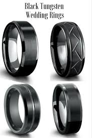 black wedding rings his and hers wedding rings his and hers black wedding ring sets 2mm tungsten