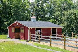 nice dark brown small horse barn plans that can be decor with grey