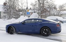 bentley snow 2018 bentley continental gt to be lighter faster and more powerful