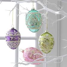 decorative easter trees and easter tree ornaments