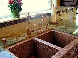 copper faucets kitchen copper kitchen sink faucets what faucet goes with a copper sink