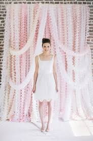 wedding backdrop garland 13 creative diy wedding garland ideas weddingomania