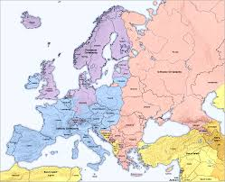 What Is A Map Who U0027s Who In Europe East And West How European Is Russia