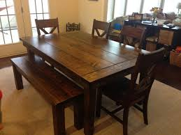 distressed wood dining table image of white distressed farmhouse