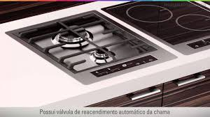 Ge Glass Cooktops Cooktop A Gás Ge Profile Glass Touch Youtube