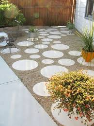Backyard Flooring Ideas by Best 25 No Grass Backyard Ideas On Pinterest No Grass