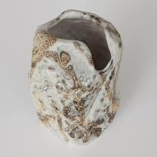 Fantoni Vase Marcello Fantoni Brutalist Abstract Ceramic Vase Vern Vera