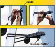 Rv Awning Deflappers Window Awning Pull Strap Fits Most Rv Awnings Coil N U0027wrap A Cool