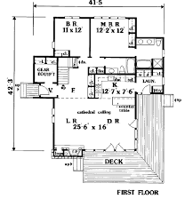 dimensioned floor plan house plan 99645 at family home plans