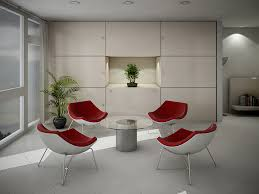 Conference Room Decor White Office With Splashes Of Colour Office Design Layout