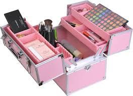 Box Makeup facebox fashion makeup box with inner tray makeup