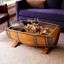 Exotic Coffee Tables by Exotic Wine Barrel Coffee Table Show Off The Store