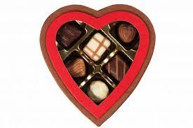 chocolate heart box sm heart shape box