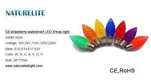 e12 e14 led christmas lights 360 degree beam angle pine cone shape